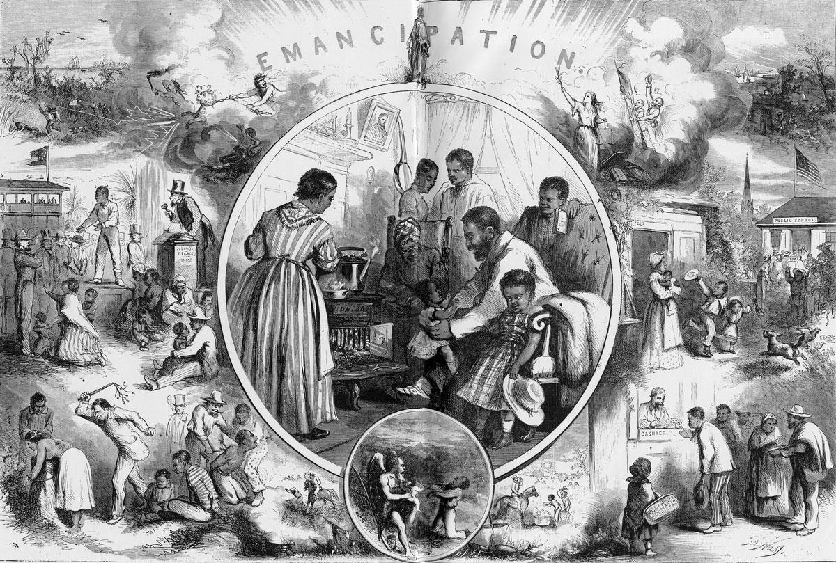 Fryd And Joy On Slavery, Race In United States  Adphd-6082