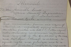 NEWS: Harvard to Digitize 18th and 19th Century Anti-Slavery Petitions