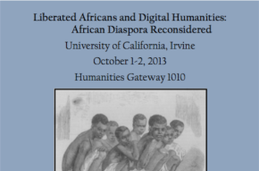 CONF: Liberated Africans and Digital Humanities