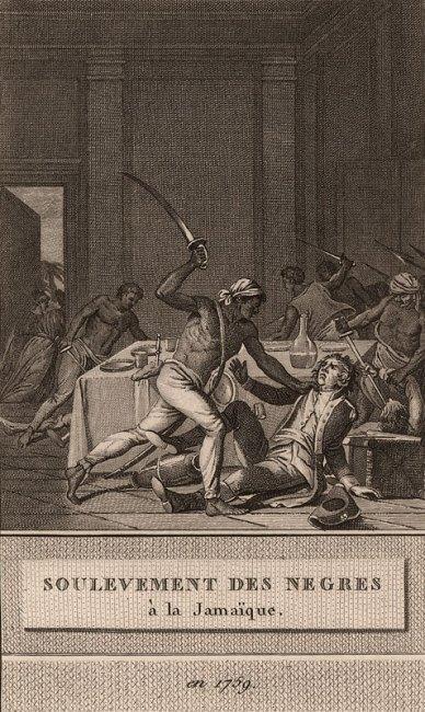 Slave Revolt in Jamaica, 1760-1761