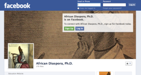 African Diaspora, Ph.D. is now on FACEBOOK!