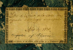 WEB/SOURCES: Registers of the Havana Slave Trade Commission Compiled by H.B. Lovejoy
