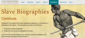 CONF: Biographies: Atlantic Slave Database Conference at MSU