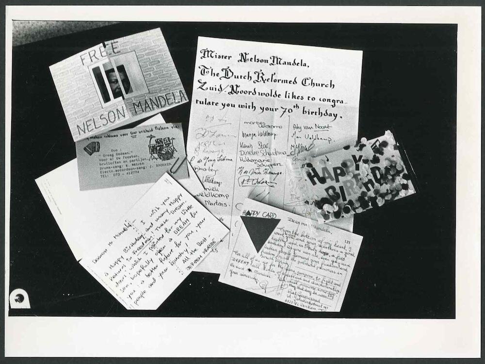 Letters to Mandela