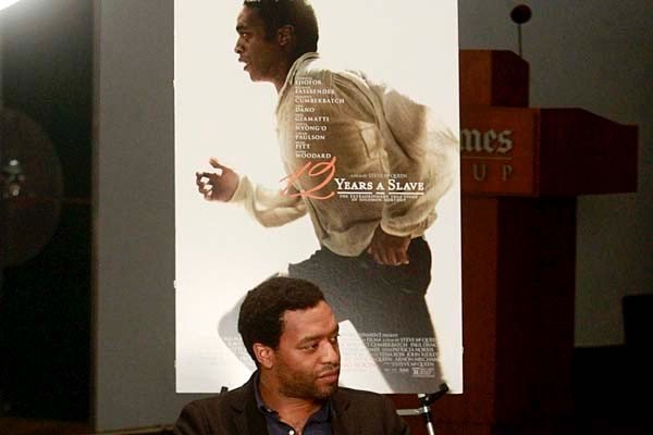 Los Angeles, CA. NOVEMBER 10, 2013--Actor Chiwetel Ejiofor talk about his current movie and Oscar contending role. (Kirk McKoy / Los Angeles Times.)