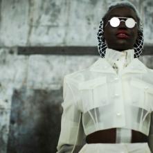 """Akuol de Mabior modeling Thom Brown (S/S '14). Photographed by Lea Colombo."" https://buff.ly/2GTLMek"